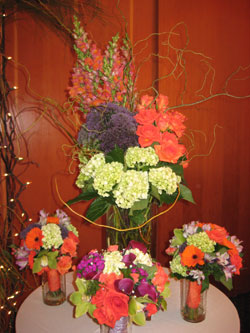 Centerpiece with Bouquets